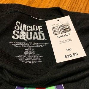 Hot Topic Tops - Suicide Squad T-Shirt • NWT • UNISEX MEDIUM
